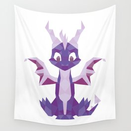 Spyro the dragon Lowpoly Wall Tapestry