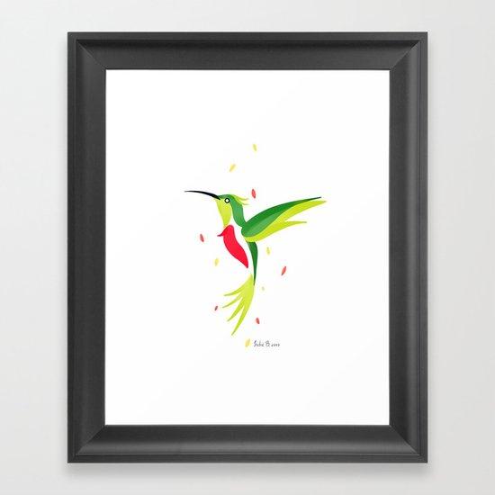 Hummingbird 2 Framed Art Print