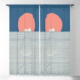 Cat Landscape 77 Blackout Curtain