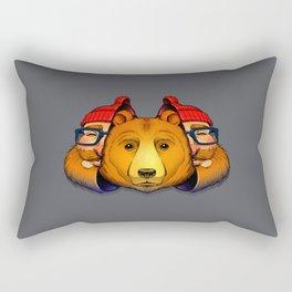 Bear Inside Rectangular Pillow
