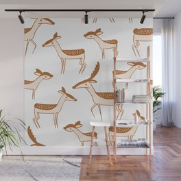 awesome deer gazelle for lovers of forest & animals Wall Mural