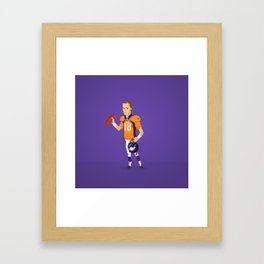 Manning The Great Framed Art Print
