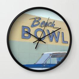 Beach Bowl Wall Clock