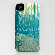 Wander in the Woods iPhone (4, 4s) Slim Case