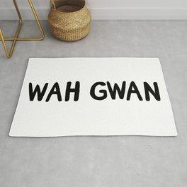 wah gwan Rug