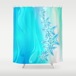 Starfish G217 Shower Curtain