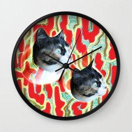 Cuca the Cat Wall Clock