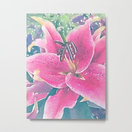 Lilly Metal Print