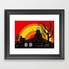 Spooky Framed Art Print