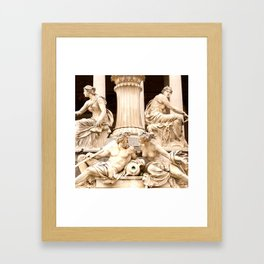 Beautiful Sculptures #decor #society6 Framed Art Print
