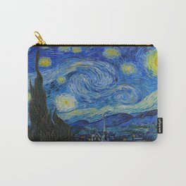 The Starry Night Vincent van Gogh 1889 Oil on canvas Carry-All Pouch