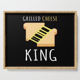 Grilled Cheese King BBQ Serving Tray