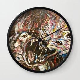 Love Dogs Wall Clock