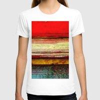 bali T-shirts featuring Sunset in Bali by Sreetama Ray