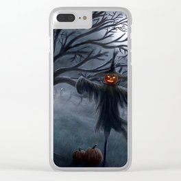 Scarecrow Clear iPhone Case