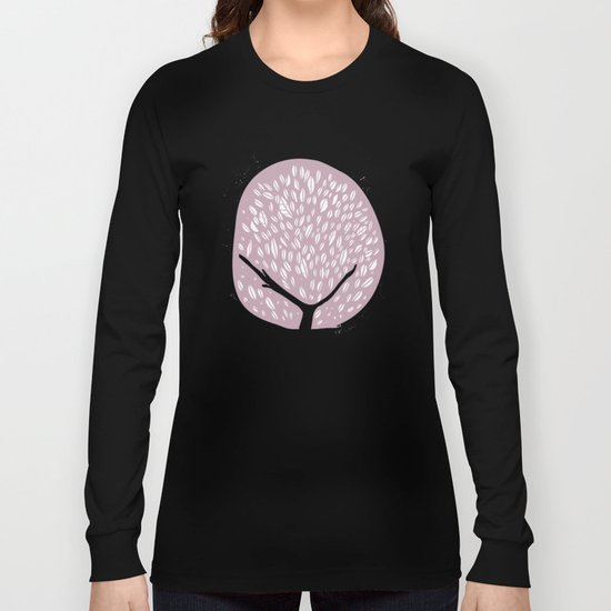 Tree of life - lilac Long Sleeve T-shirt
