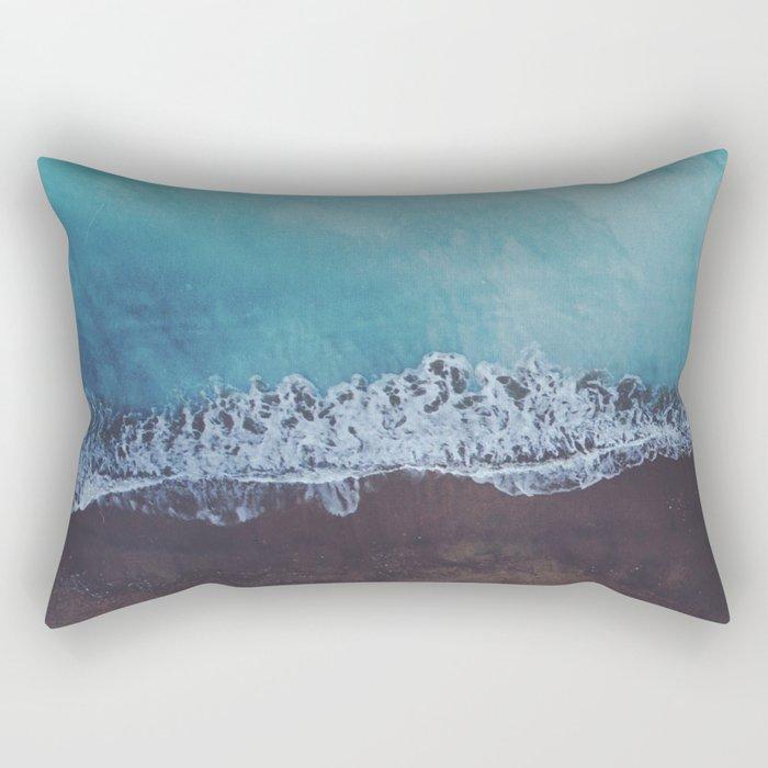 Oceans away Rectangular Pillow