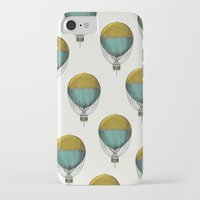 hot air balloons iPhone & iPod Cases featuring Hot Air Balloons by Juste Pixx Designs