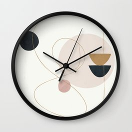 Abstract Minimal Art 31 Wall Clock