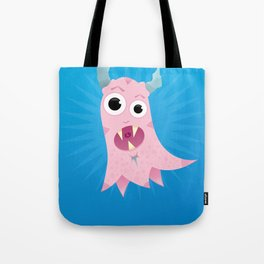 Peggy Hela Good Pink Monster Tote Bag
