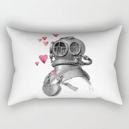 dive & love Rectangular Pillow