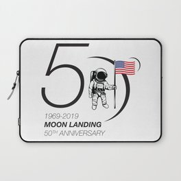 Moon landing 50th year anniversary Laptop Sleeve