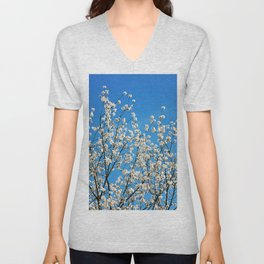 Spring Blossom VII Unisex V-Neck