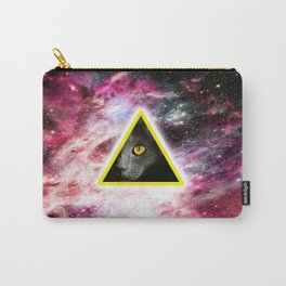 Illuminati Universe Cat  Carry-All Pouch
