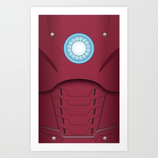 Ironman Vector Art Print