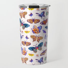 Butterflies Day - bright Travel Mug