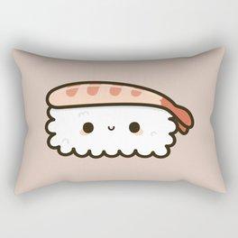 Cute prawn sushi Rectangular Pillow
