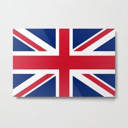Flag of the United Kingdom Metal Print