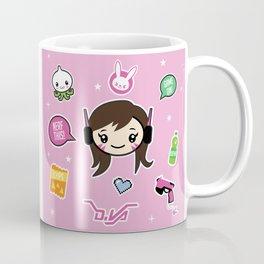 Cute Robot Lady Coffee Mug