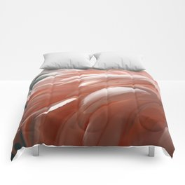 Flamingo #1 Comforters