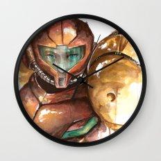 Samus Wall Clock