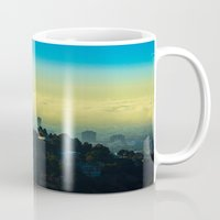 los angeles Mugs featuring Los Angeles by Sbnumb3