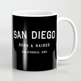 San Diego - CA, USA (Arc) Coffee Mug