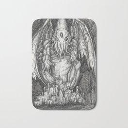 The Sleeper Cthulhu Bath Mat