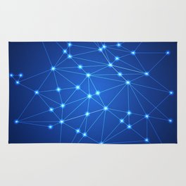 Network. Connection concept. Rug