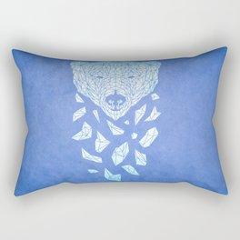 Polar Bare Blues Rectangular Pillow