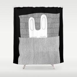 Happy Hibernation! Shower Curtain