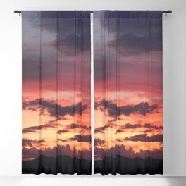 Sunrise Sherbet Blackout Curtain