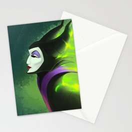 Maleficent - Burning Beauty Stationery Cards