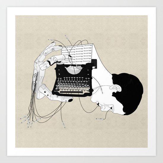 Olivetti Art Print