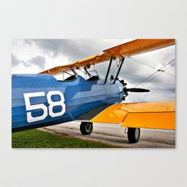 Stearman PT-17 Canvas Print