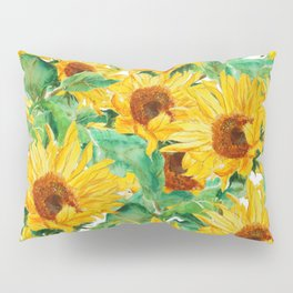 sunflower pattern Pillow Sham