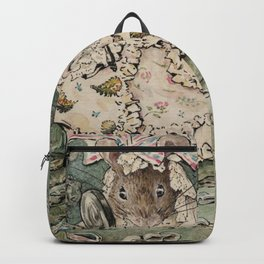 Cute little Mouse dressed up Backpack