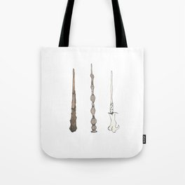 Wizard Wands Tote Bag