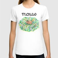 theatre T-shirts featuring Theatre Mouse by Rebecca Rogers