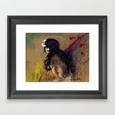 Sorry, Goodbye Framed Art Print